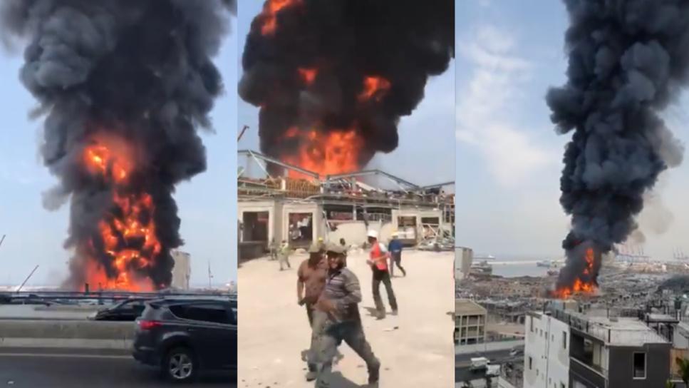 Liban: un nouvel incendie au port de Beyrouth