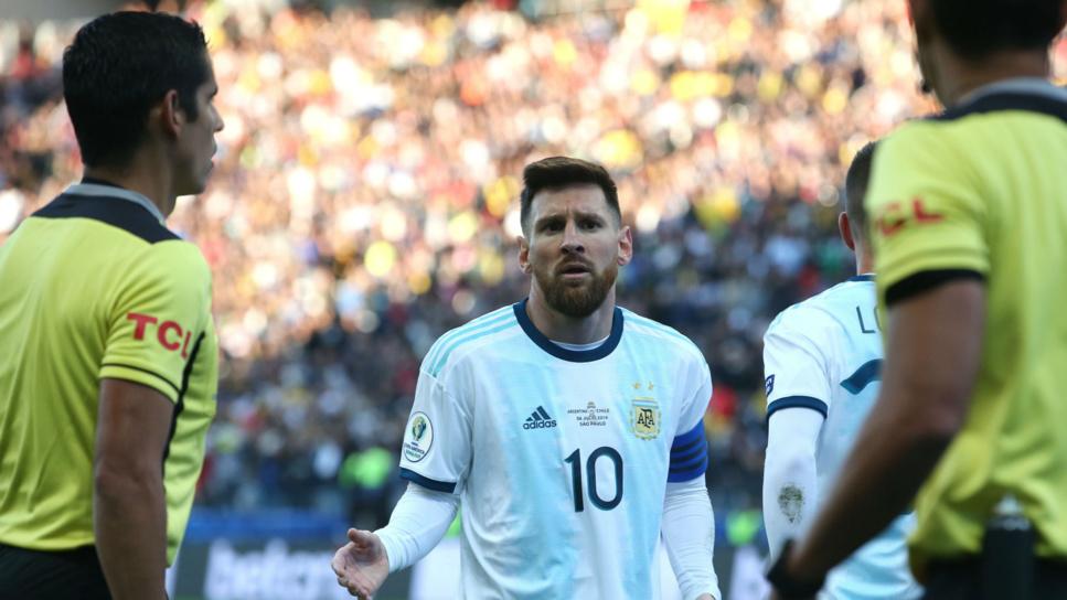 Football: levé  de sanction, Messi de retour dans la sélection argentine