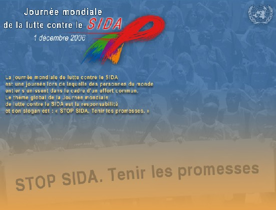 Stop Sida. Tenez la promesse
