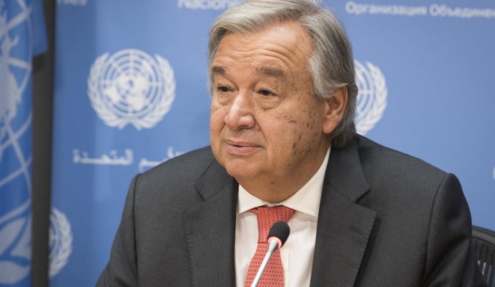 ONU : Antonio Guterres veut briguer un second mandat