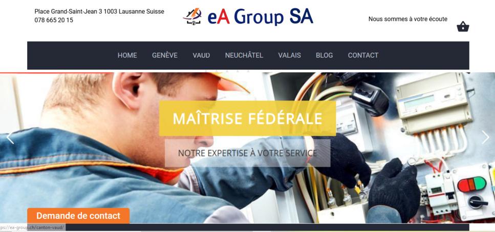 Dépannage électricien Lausanne