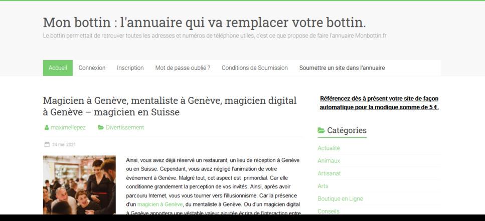 Annuaire Monbottin.fr