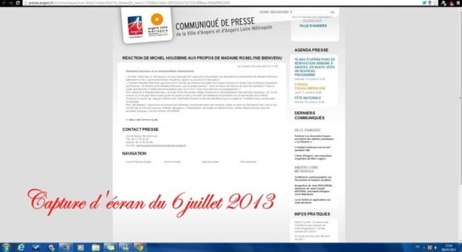Elections Angers 2014: F. Béatse passe aux aveux
