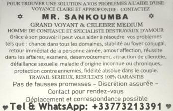 Sankoumba marabout voyant africain Orléans, amour, réussite et protection