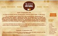 Cliquez sur l'image pour visiter le site web du Café Littéraire