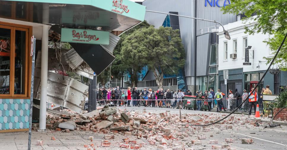 Des dégâts signalés à Melbourne après un séisme de magnitude 5,9