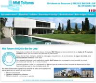 Cliquez sur l'image pour afficher le site Internet de Midi Toitures