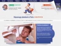 Un site de plombier à découvrir sur Paris