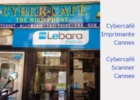"Cybercafé Cannes ""The Bird Phone"""