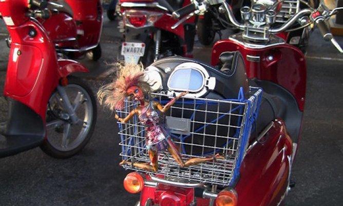 France: bavardages et scooter ont fabriqué une galère