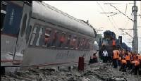 Russie: une bombe artisanale provoque le déraillement d'un train