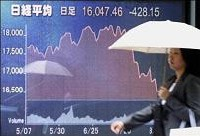 Les marchés financiers s'enfoncent dans la crise