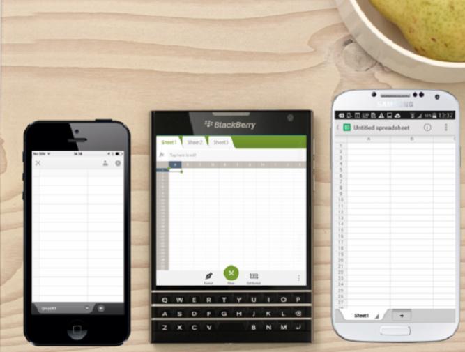 Iphone, BB Passport, Samsung