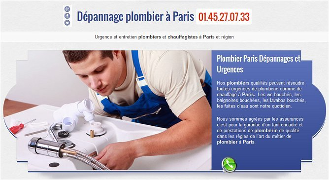 DESA services plombiers à Paris