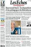 Revue de presse du 27 août 2007