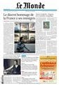Revue de Presse du 9 octobre 2007