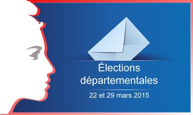 Premier tour des élections départementales 2015