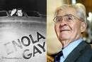 Hiroshima : le pilote américian qui a largué la bombe atomique est mort