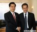 Nicolas Sarkozy EADS et ALSTOM en Chine pour une visite d'Etat