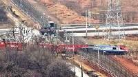 Un train relie les deux Corée