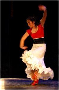 Le flamenco va de l'avant