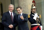 Actu Monde : Bush et Sarkozy affichent leurs convergences sur l'Iran et la Syrie