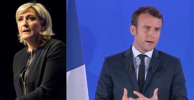 Présidentielles 2017 au 1° tour : duel Macron Le Pen