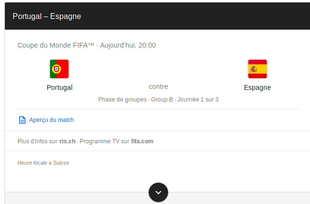 Pronostic Match Portugal Espagne