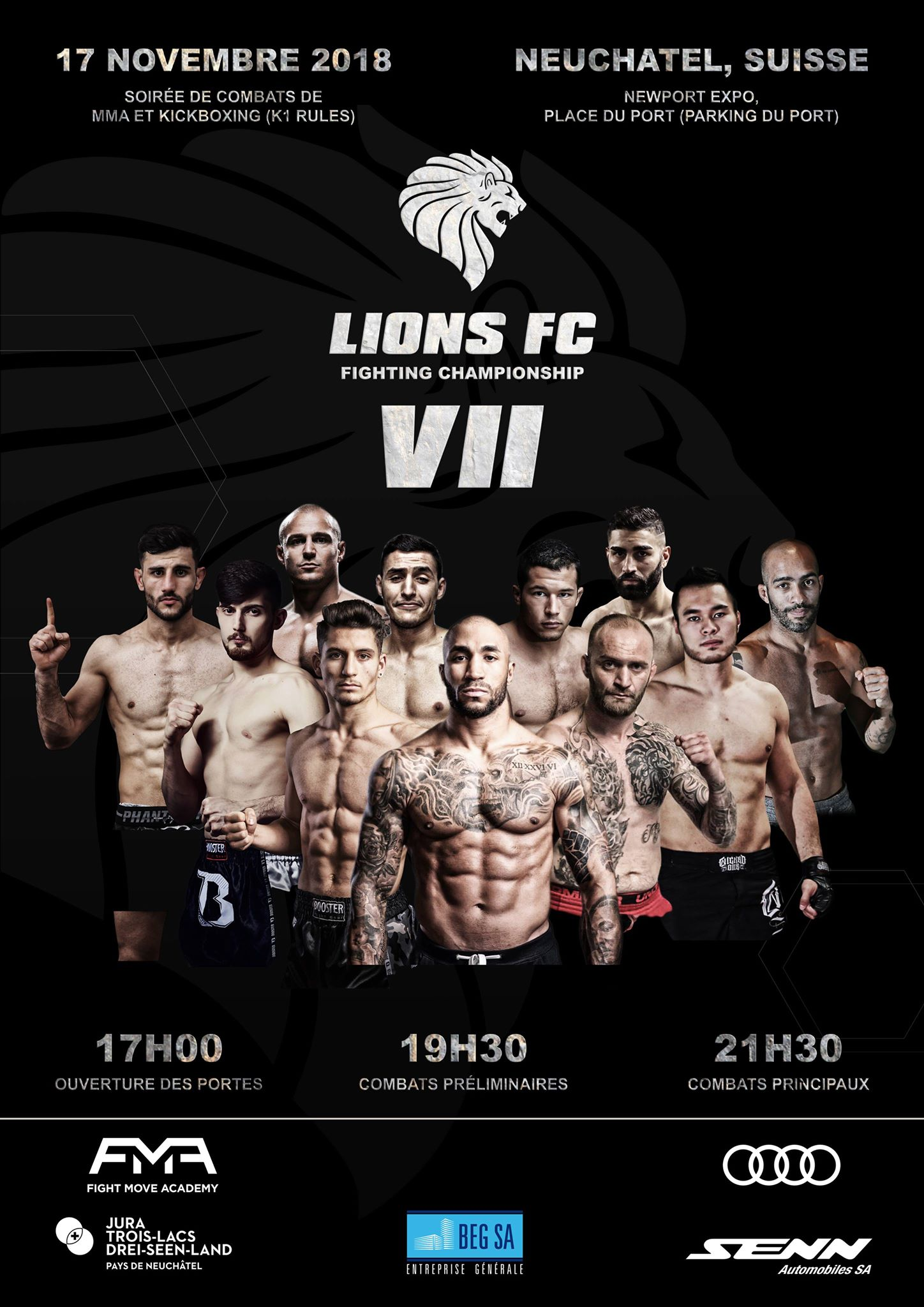 Main Events : Kick Boxing Lions Fighting Championship