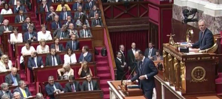 Déclaration de politique générale du Premier Ministre Edouard Philippe