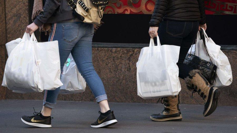 New York bannit les sacs en plastique