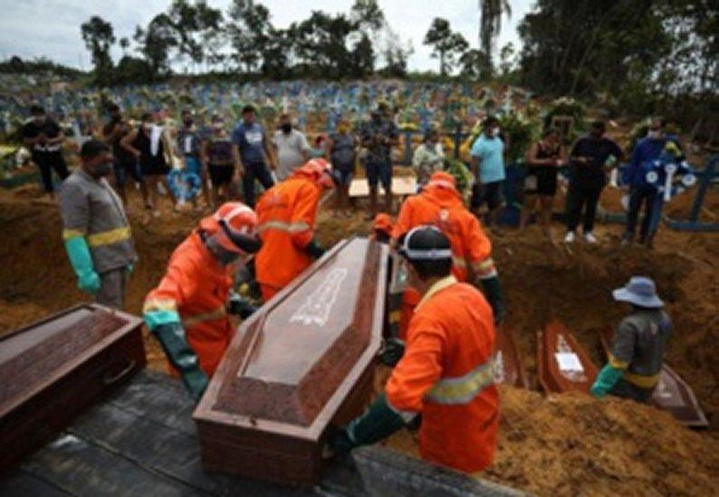 Brésil: 1156 morts, un record national d'infections au covid-19 sur les dernières 24 heures