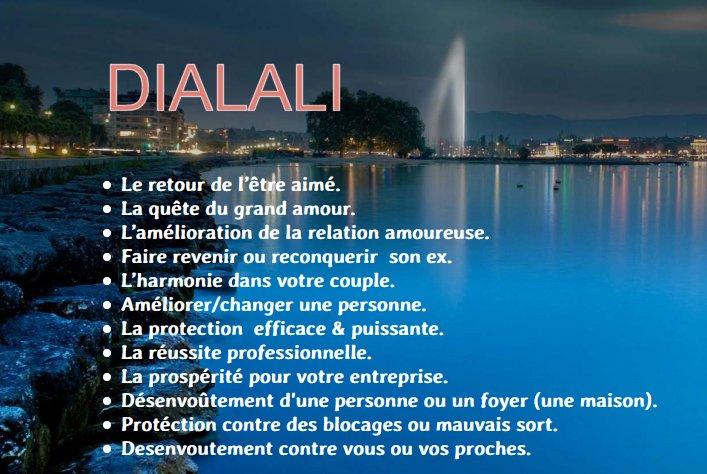 Dialali marabout et sorcier vaudou magie blanche noire rouge Lausanne