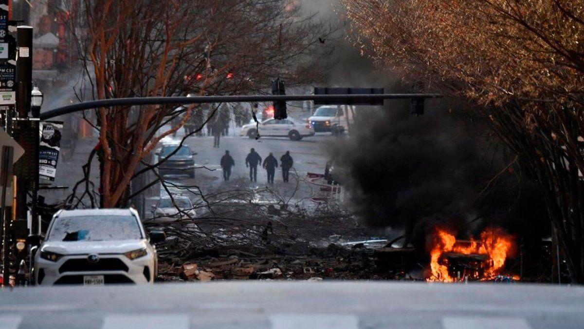 États-Unis: une puissante explosion à Nashville