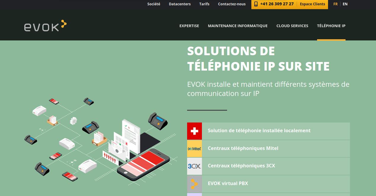 Hébergement de site Web en Suisse