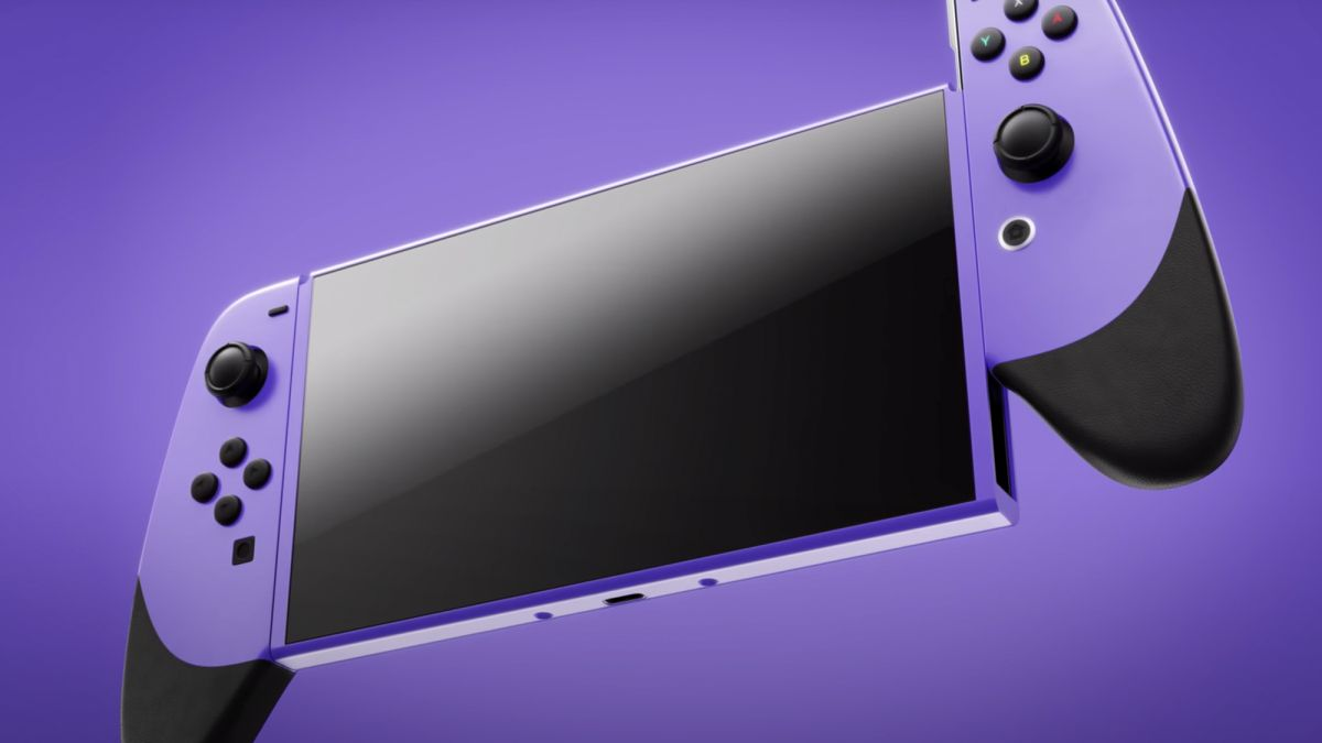 La nouvelle Nintendo Switch Pro a l'air absolument incroyable