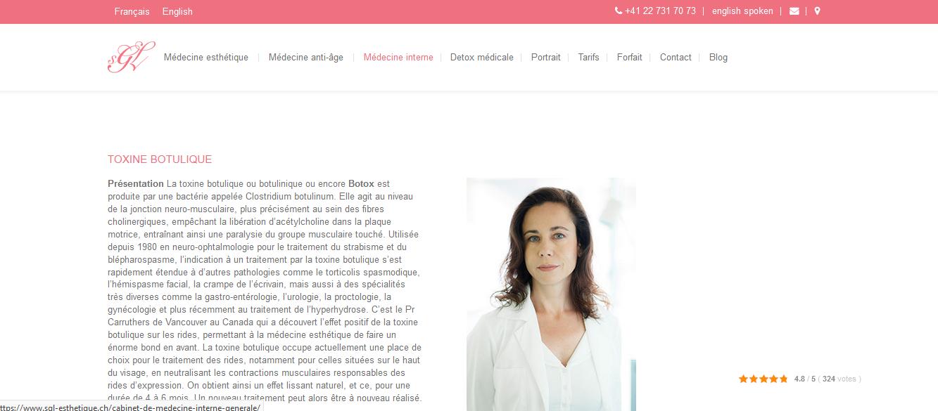 Médecine esthétique Genève