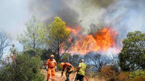 Incendie dans le Var : 4000 hectares ravagés, 1100 pompiers déployés