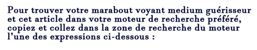Professeur Ali marabout voyant être aimé Avignon