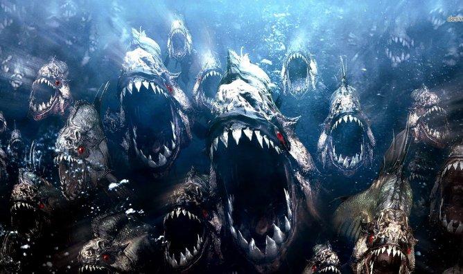 Des piranhas, pas des FN