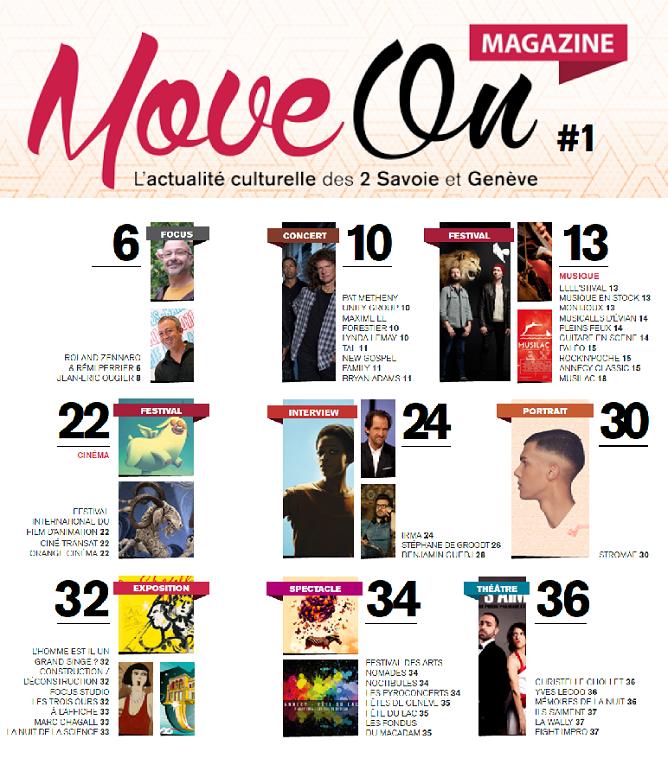 Haute Savoie: Move On magazine bientôt distribué d'Annecy à Genève