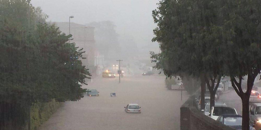 Inondations à Vigan (Gard)
