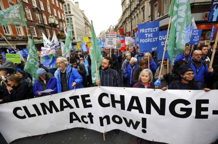 Marche mondiale pour le climat 21/09/2014
