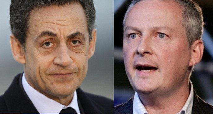 UMP: la lutte entre Nicolas Sarkozy et Bruno Le Maire est ardue