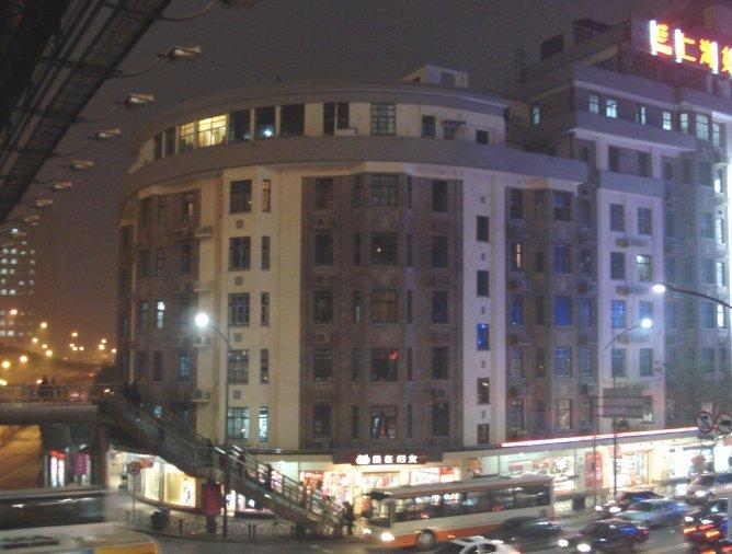 L'immeuble Béarn à Shanghai