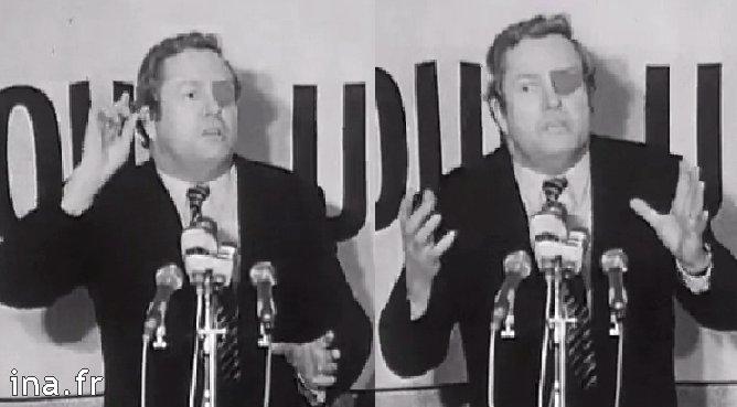 Jean-Marie Le Pen en 1974