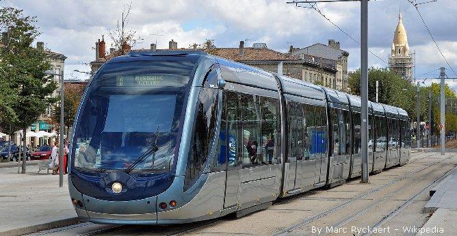 Bordeaux: les travaux du tram D relancés