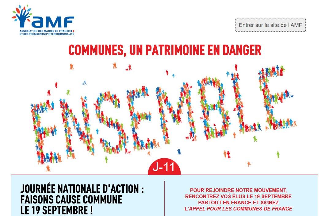 Site de l'Association des Maires de France