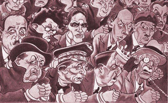 Le magnétisme fasciste au XXème siècle en France