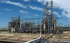Incendie dans une usine pétrochimique